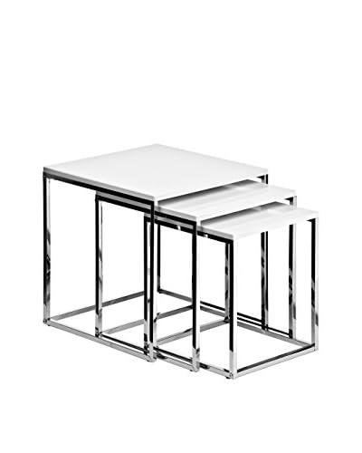Premier huishoudelijke salontafel 3 stuks . Stel 2.402.536 wit