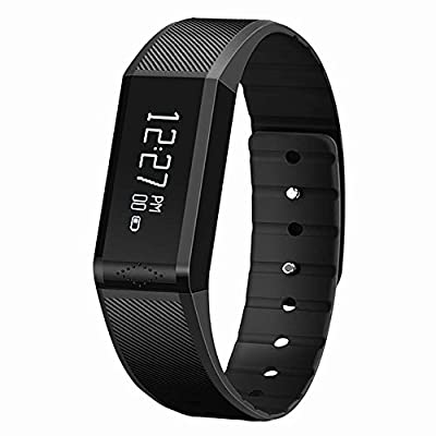 The New Galvanize X6 Fitness Tracker and Sleep Monitor - Track Your Calories, Steps, Distances and Read Messages with This Pedometer / Smart Fitness watch