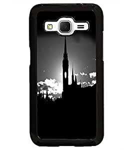 PrintDhaba Tower D-2011 Back Case Cover for SAMSUNG GALAXY CORE PRIME (Multi-Coloured)