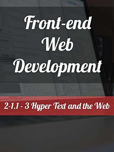 2-1.1 3. Hyper Text and the Web