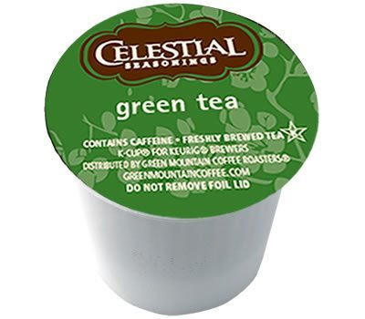 Gourmet Single Cup Coffee Green Tea - 12 K-Cups,(Green Mountain Coffee Roasters)