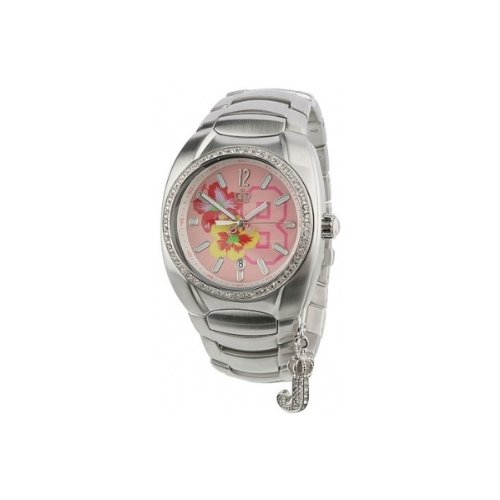 Juicy Couture Ladies Stainless Steel Stone Set Watch