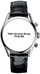 TAG Heuer Carrera Mens Leather Strap FC6180