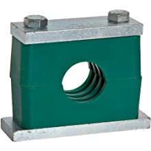 "Brennan CPS Series Steel Pipe Clamp, 3/8"" Band Width, 0.675"" Maximum Diameter"