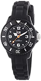 Ice-Watch Childrens Black Sili Forever Watch SI.BK.M.S.13