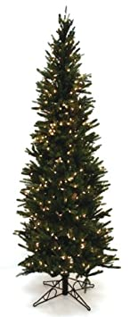 #!Cheap Good Tidings Oregon Pine Artificial Prelit Christmas Tree, Clear Lights