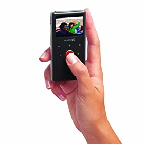 Flip MinoHD Camcorder  2nd Generation, 120 Minutes (Brushed Metal) NEWEST MODEL