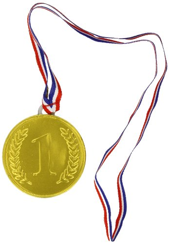 Milk Chocolate Foiled Medals (Pack of 10)