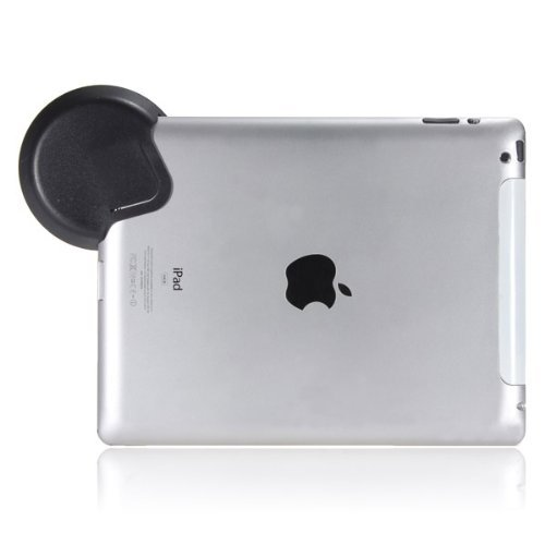 Black Sound Collector Mini Amplifier Loud Speaker Compatible with iPad 2&3