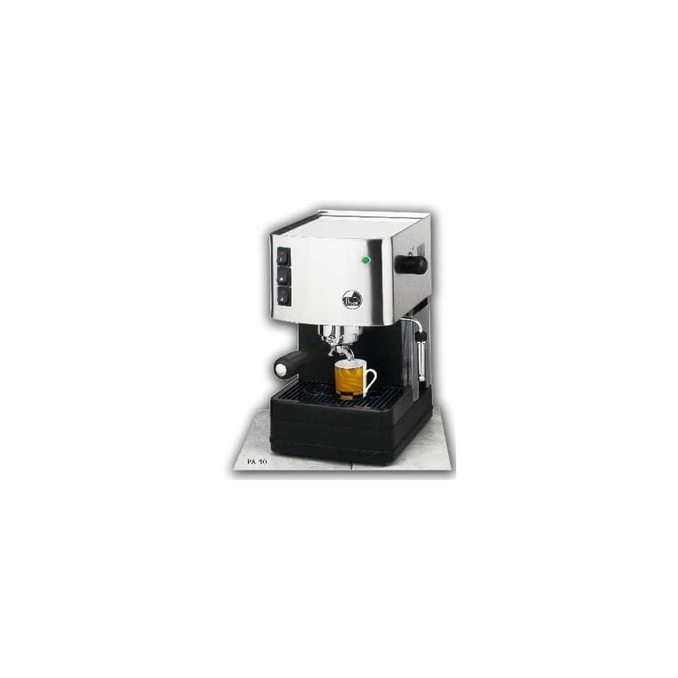 La Pavoni Buondi Model Home Espresso and Cappuccino Machine, Single Group, 1.8 Liter Tank, Marine Brass Boiler