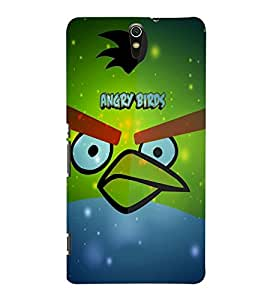 Fuson Angry Birds Case Cover for Sony Xperia C5 dual