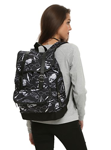Harry Potter Symbols Slouch Backpack