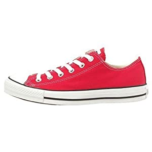 Converse Converse Youth Chuck Taylor All Star Ox Basketball Shoes 10.5 Kids Us (Red)