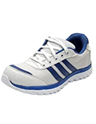 Rootz White & Blue Sports Shoes