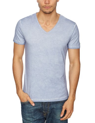 GAS Alphy 542479 Printed Men's T-Shirt Pastell Blue X-Large