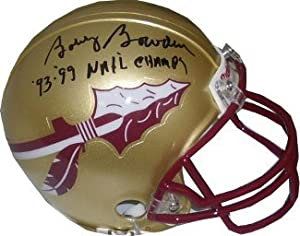 Bobby Bowden signed Florida State Seminoles Replica Mini Helmet