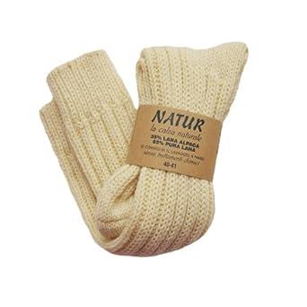 Women's Luxury Italian Wellie / Bed Socks 65% Wool 35% Alpaca 40/41 UK 7-8