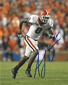 AJ Green signed Georgia Bulldogs 8x10 Photo by Athlon+Sports+Collectibles