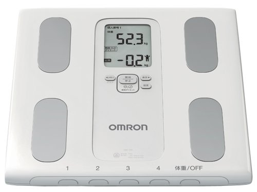 Cheap Omron KARADA Scan Body Composition & Scale | HBF-207-W (Japanese Import) (HBF-207-W)