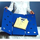 Clothes Folder - Folds Clothes Just Flip Fold-Blue