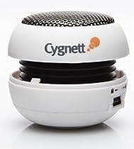 Cygnett GrooveBassball Mini Bassball Speaker for iPod and MP3 Players (White)