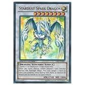 遊戯王 英語版・北米版 白 STARDUST SPARK DRAGON(U)(閃光竜 スターダスト)