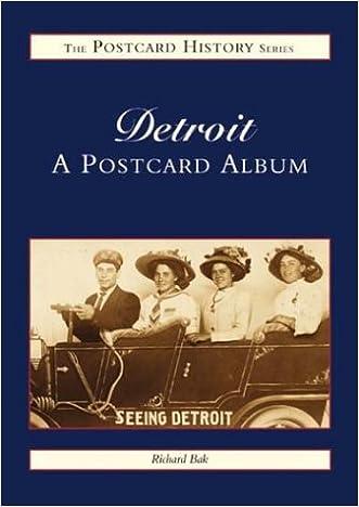 Detroit: A Postcard Album (Postcard History)