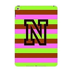 Skin4gadgets Neapolitan Ice Cream Colour Stripes 2 name Alphabet N Tablet Skin for IPAD MINI1