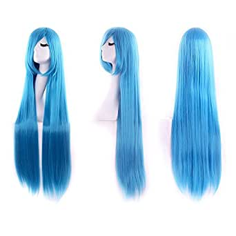 New Long Anime Costume Long Straight Cosplay Wig Party Wig