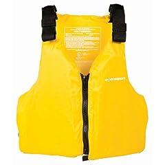 Buy Extrasport Fleet Universal Adult Type III Yellow PFD by Extrasport