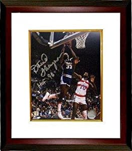 David Thompson Signed Photo - Denver Nuggets NBA 8x10 HOF 96 Custom Framed -... by Sports Memorabilia