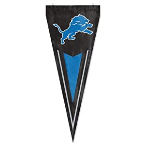 Detroit Lions Official NFL 15 Garden Flag + Stand by Party Animal by Party Animal