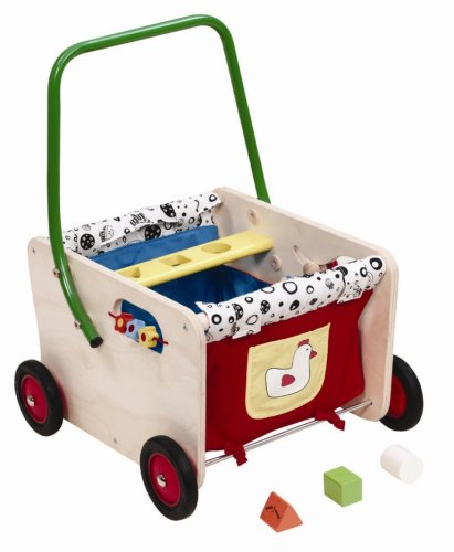 Wonderworld Wooden Jolly Wagon Walker