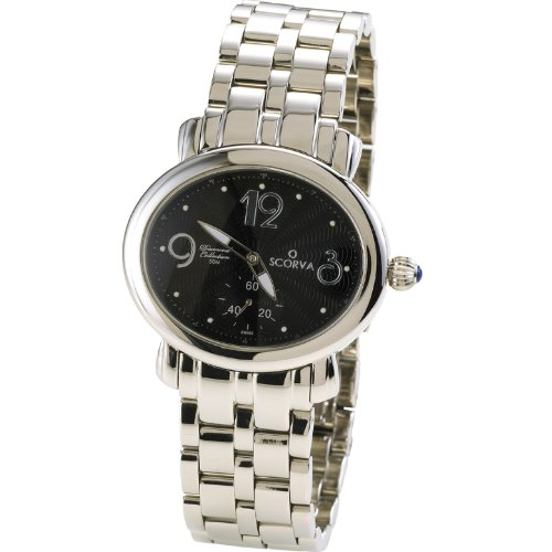 Scorva Womens Solid Stainless Steel Ladies Watch