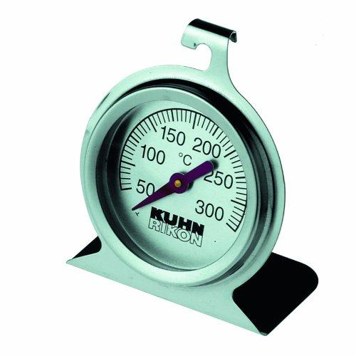 Kuhn Rikon 2280 Thermomètre Four Acier Inoxydable Argent 23 x 10 x 4 cm