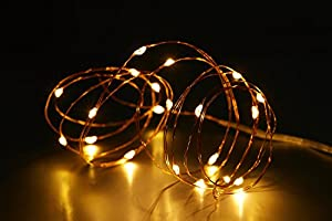I-SEEDTECH® 2M 20leds LED Strings Light AA Battery-Operated Copper Wire For Party Christmas Lighting Decorative String Fairy Light Cool/Warm White