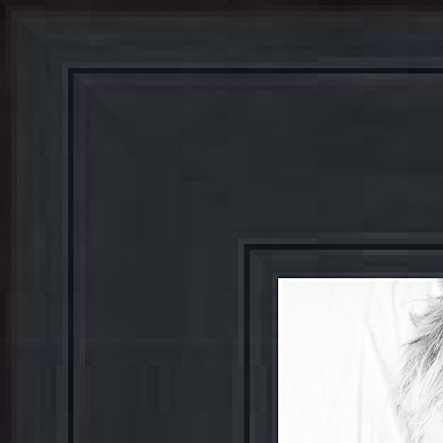 ArtToFrames 14x14 inch Black Stain on Pine Wood Picture Frame, WOM0066-80206-YBLK-14x14 (14x14 Picture Frame compare prices)