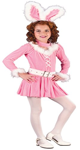 Girls Bunny Honey Kids Child Fancy Dress Party Halloween Costume