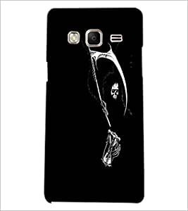 PrintDhaba Skeleton D-2311 Back Case Cover for SAMSUNG Z3 (Multi-Coloured)