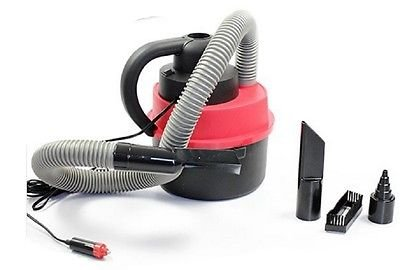 12V Wet Dry Vac Vacuum Cleaner Inflator Portable Turbo Hand Held for Car or Shop (Steam Extractor Automotive compare prices)