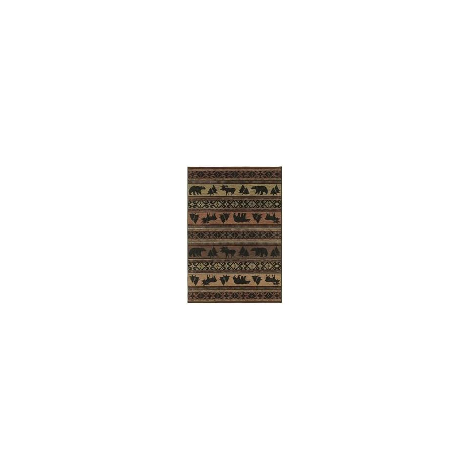 Shaw Timber Creek By Phillip Crowe Canyon Trail Multi 03440 Southwestern 78 x 1010 Area Rug