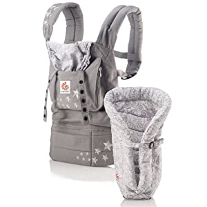 ERGO Baby Carrier Bundle of Joy - Original Galaxy Grey with Galaxy Grey Insert