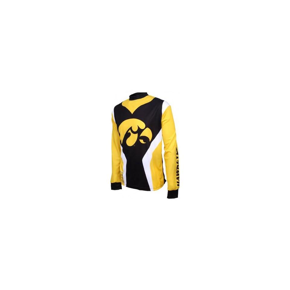 Iowa Hawkeyes Long Sleeve Mountain Bike Jersey on PopScreen 9148596d1