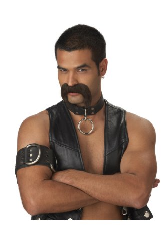 California Costumes Men's The Leather Daddy Moustache