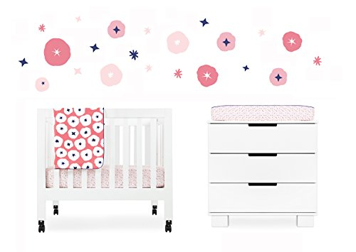 Babyletto In Bloom 4-Piece Mini Crib Set front-3511