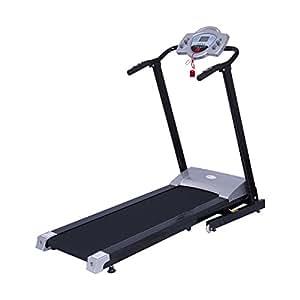 Soozier 1100W Portable Motorized Folding Treadmill Fitness