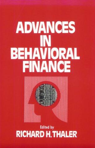 Advances in Behavioral Finance (Roundtable Series in Behavioral Economics) (Advance Accounting Theory compare prices)