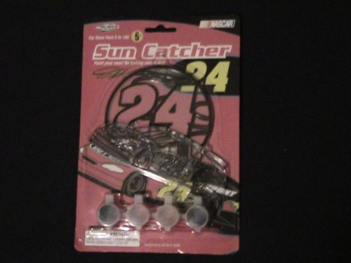 Jeff Gordon Sun Catcher Set -NASCAR Collectible
