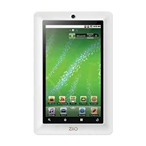 Creative ZiiO 8 GB 7-Inch Android 2.2 Wireless Entertainment Tablet (White)