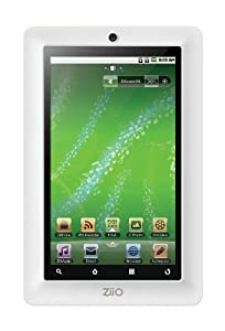Creative ZiiO 8 GB 7-Inch Android 2.1 Wireless Entertainment Tablet (White)